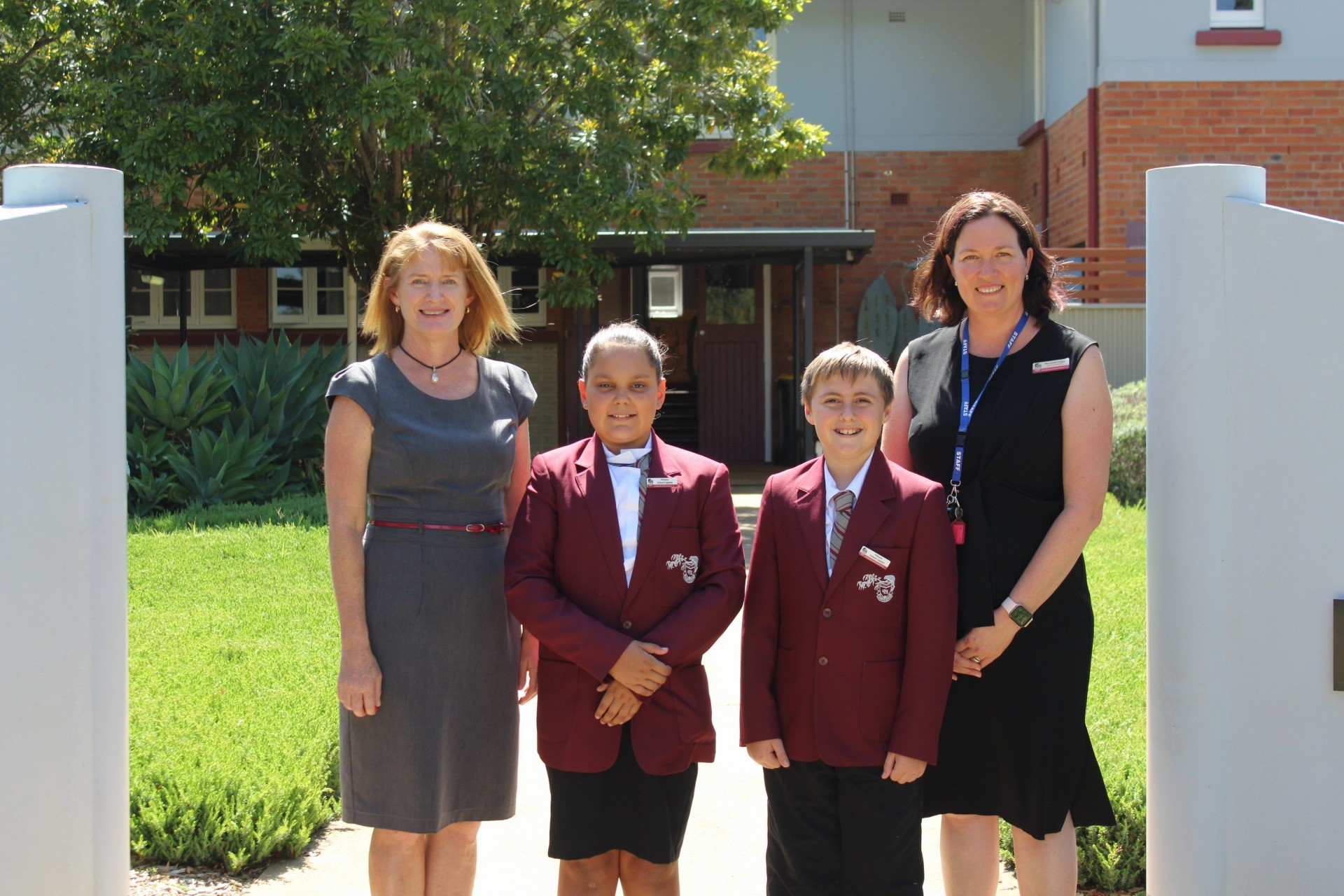The School Leaders 2020 for Ravenshoe State School-Primary are Primary School Captain: Olivia Mason and Primary School Captain: Roman Brown, With Principal: Ms Helen Carne and Deputy Principal: Mrs Lurelle Hodge View The School